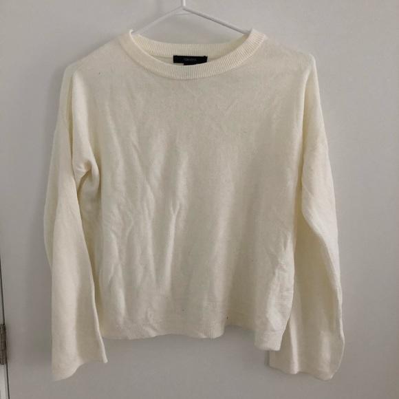 2/$10 Cream Forever 21 sweater